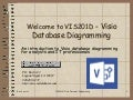 VIS201d Visio Database Diagramming