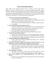 Visa questions f1 pdf interview and answers