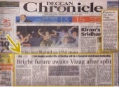 Predict Bright future awaits Visakhapatnam after split astrologers in deccan chronicle by p.v.radha krishna also