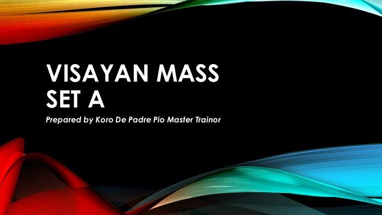 Visayan mass