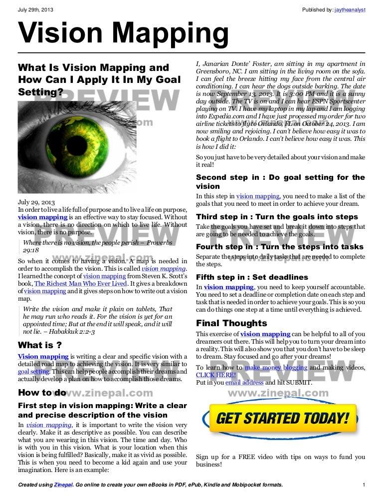 steven k scott vision mapping journal pdf