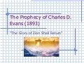 Vision Of Charles D Evans