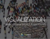 Why Visualization Matters to Your Project & Community