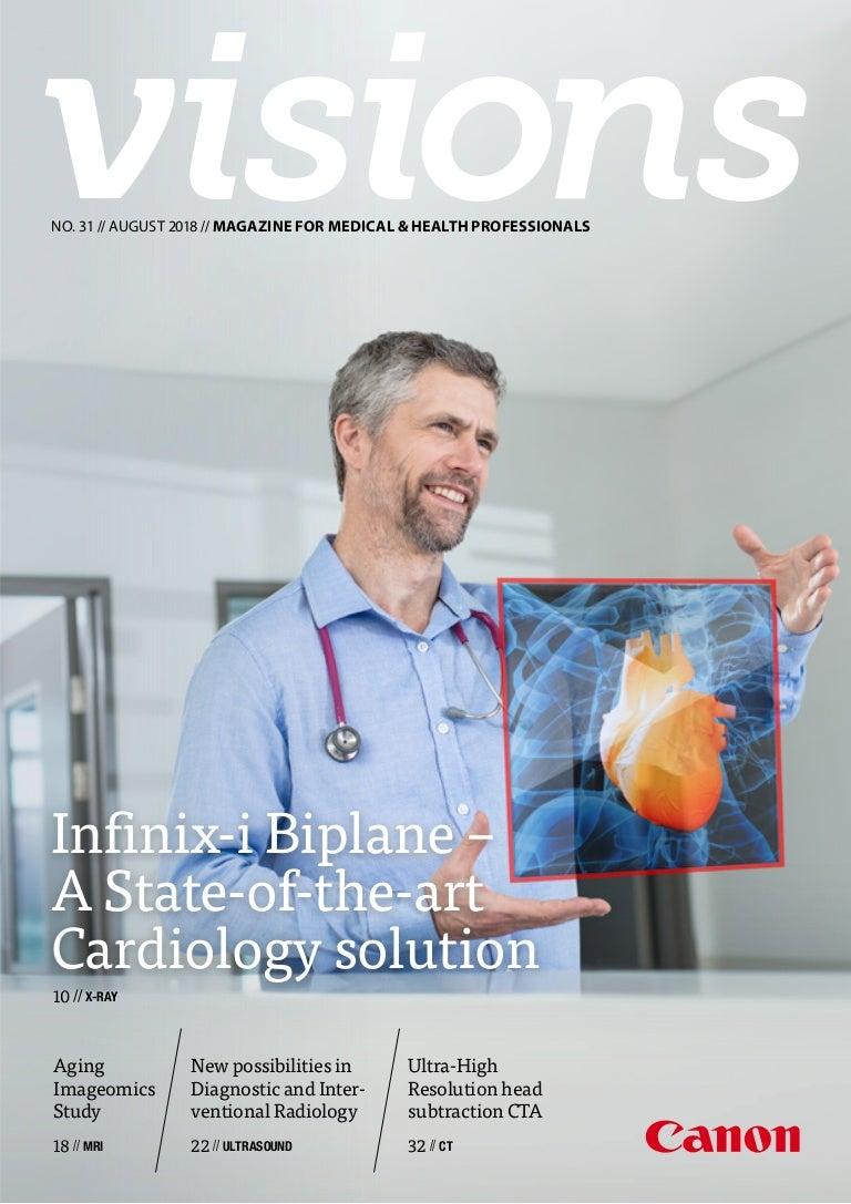 Onwijs Canon Medical Systems VISIONS Magazine - issue 31 LH-84