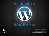 Vistiendo a WordPress