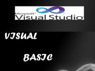 Visual basic ppt for tutorials computer
