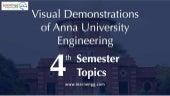 Visual demonstrations of anna university engineering 4th semester topics - Part 2