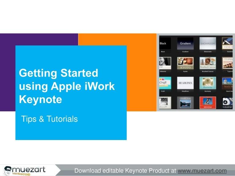West Herr Toyota >> Getting Started using Apple iWork Keynote
