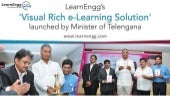 'Visual Rich e-Learning Solution' launched by Minister of Telengana