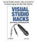 Visual studio hacks tips & tools for turbocharging the ide 26th edition pdf ebook full free
