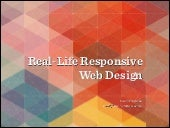 Responsive Web Design: Clever Tips and Techniques - Vitaly Friedman (UX Riga 2014)