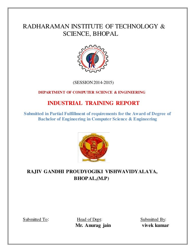 Industrial training report on java yadclub
