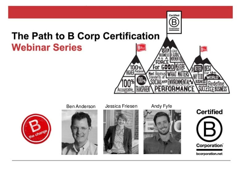 Why The Case For B Corp Certification