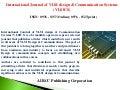 Call for Papers - International Journal of VLSI design & Communication Systems (VLSICS)