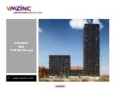 VMZINC and Tall buildings