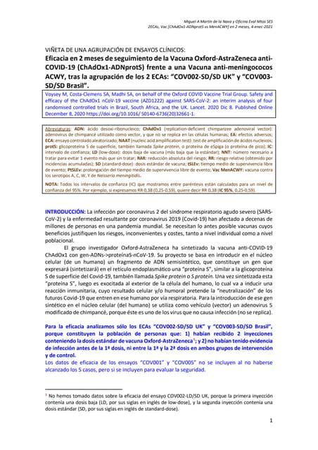 Vn 2 eca vacuna [covid 19 oxford-astrqazeneca vs  menacwy]