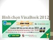 Bình chọn Vinabook - Website thương mại điện tử 2012