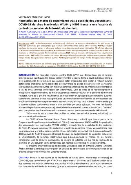 Vn eca vacunas covid 19 [virus inactivados wiv04 o hb02 vs control al oh3]