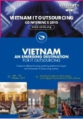 Vietnam ITO Conference 2015 - Vietnam an Emerging Destination for IT Outsourcing