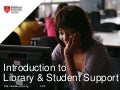 Introduction to Library & Student Support - BSc Veterinary Nursing, Leeds