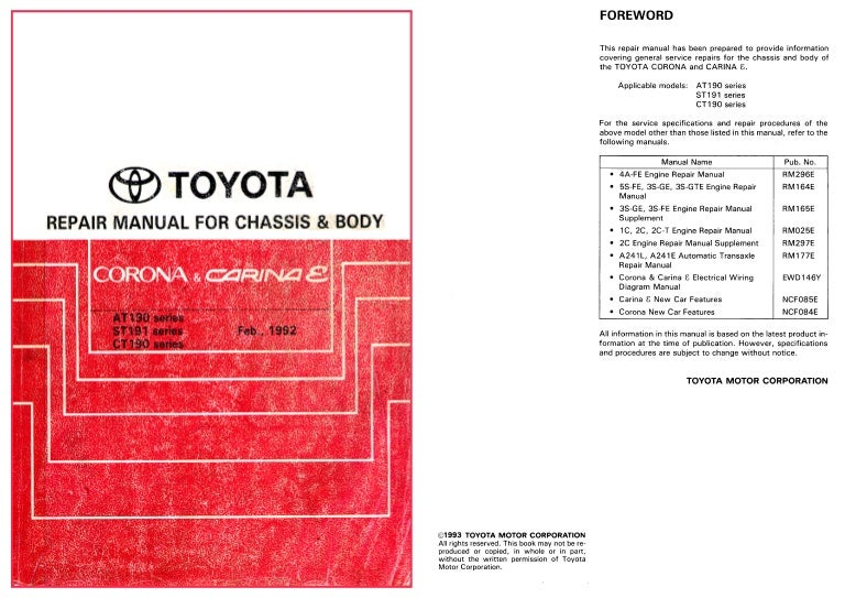 Toyota Corona Premio User Wiring Diagram Full Hd Version Wiring Diagram Fault Tree Analysis Editions Delpierre Fr