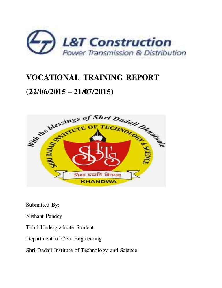 Vocational Training Report L&T