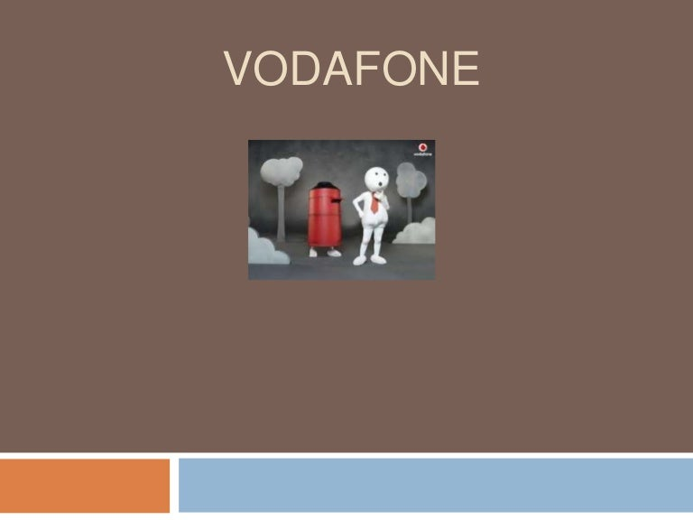 vodafone marketing strategies 9 marketing strategies of vodafonevodafone has given birth to the zoozoo: a special character created specifically to convey a value added service (vas) offering in each of the newly released.