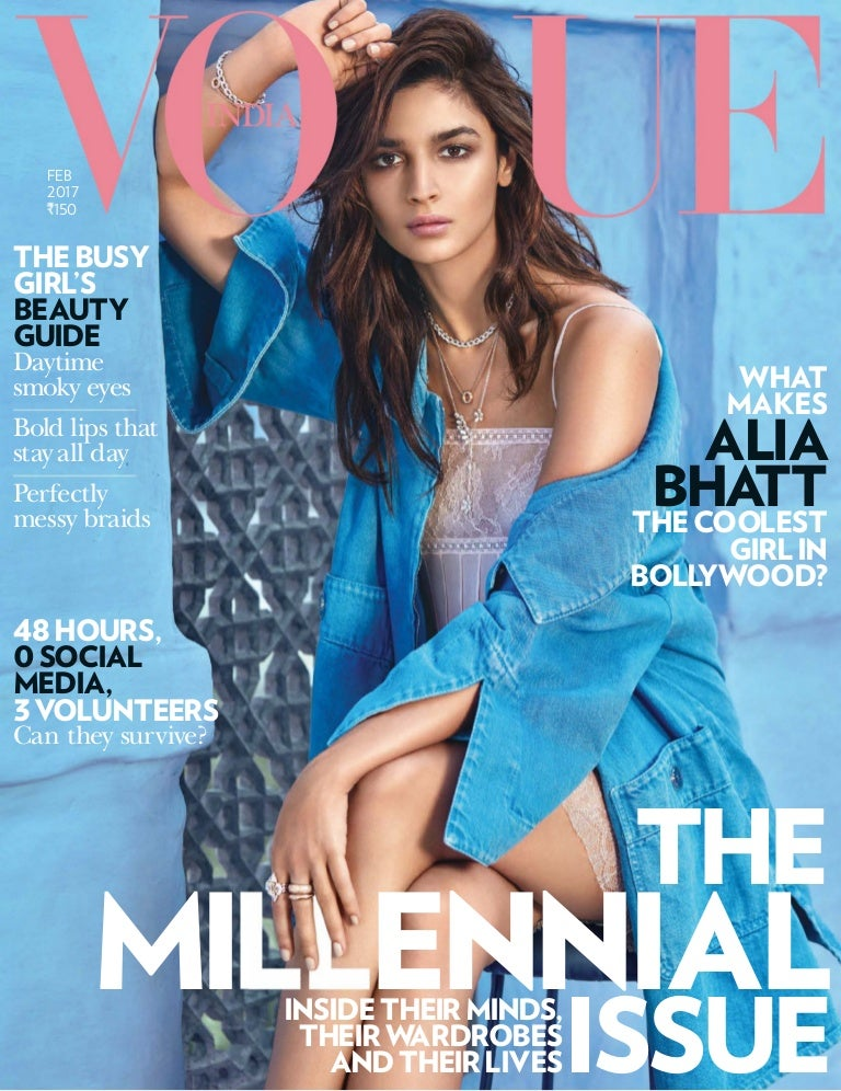 List of Vogue India cover models