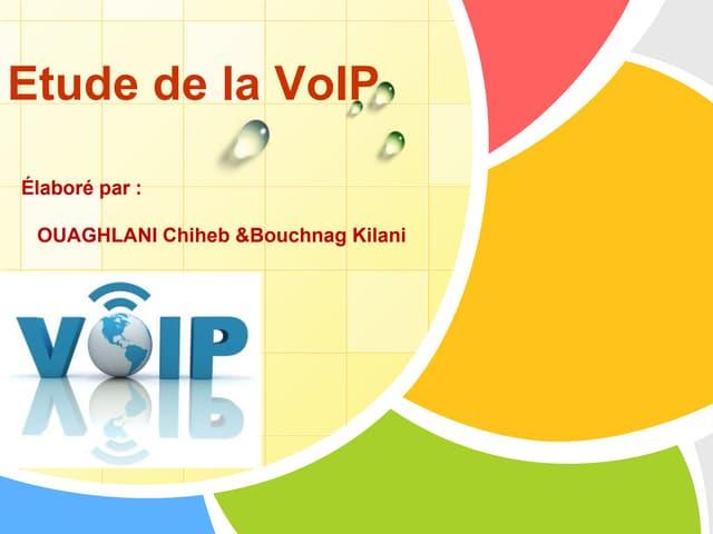 Etude de la VoIP