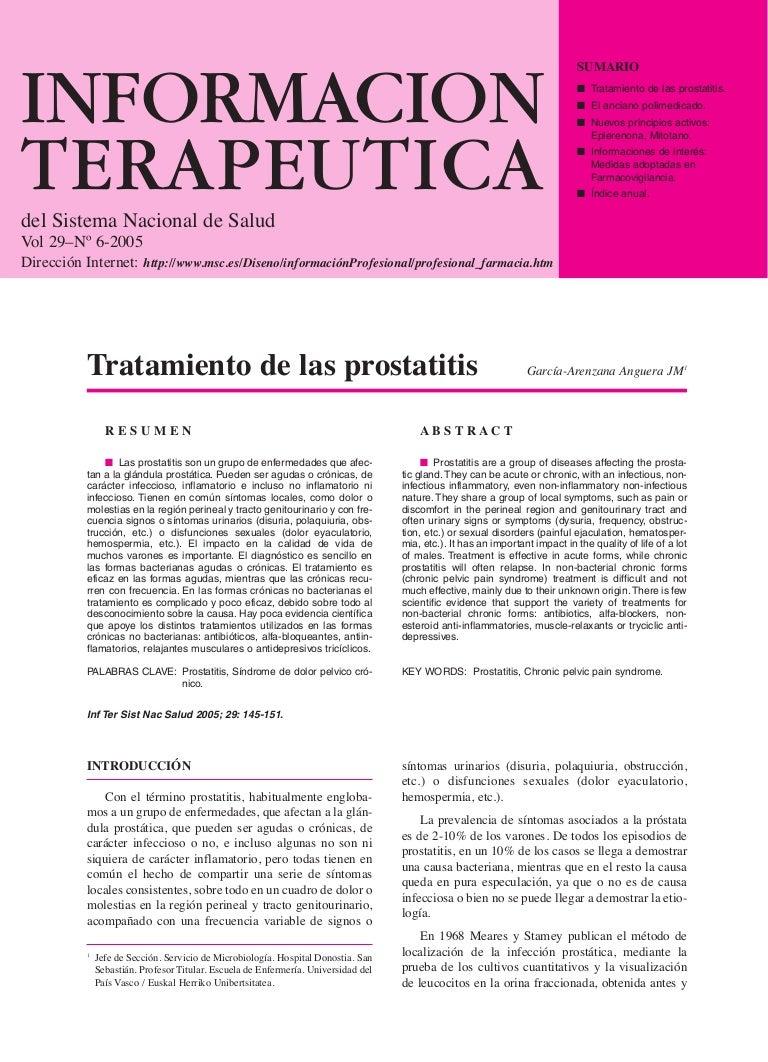 Izrael a vesiculitis prostatitis kezelése