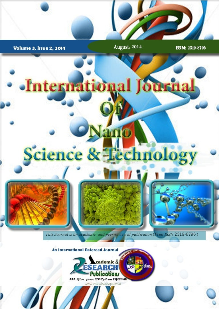 Vol3 issue2 aug14 international journal of nanoscience and technolo…