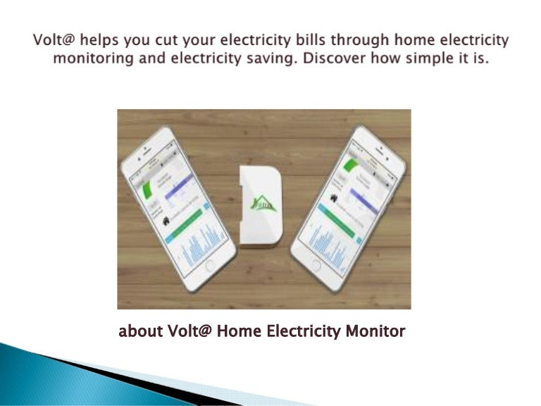 Voltaware help your home electricity bills monitoring