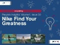 People's Insights Volume 1, Issue 30: Nike Find Your Greatness