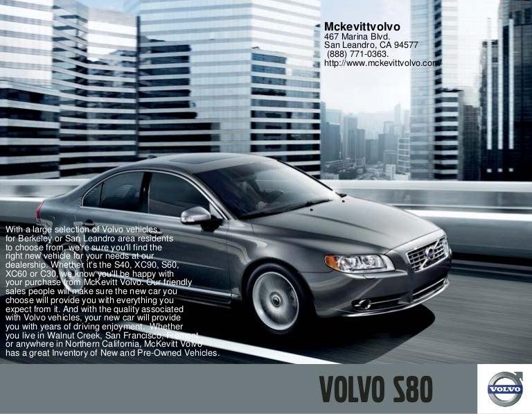 2010 Volvo S80 San Leandro