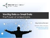 Von Big Data zu Smart Data