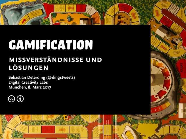 Gamification: Missverständnisse und Lösungen