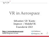 VR in aerospace