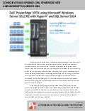 Consolidate and upgrade: Dell PowerEdge VRTX and Microsoft SQL Server 2014