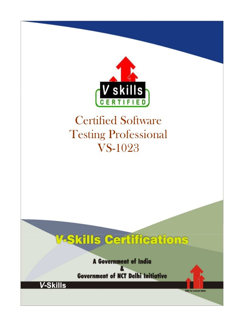 Software testing certification 1betcityfo Choice Image