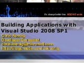 Building Applications with Visual Studio 2008 SP1