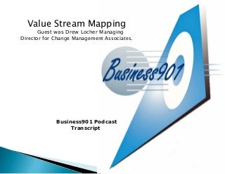 Using Value Stream Mapping