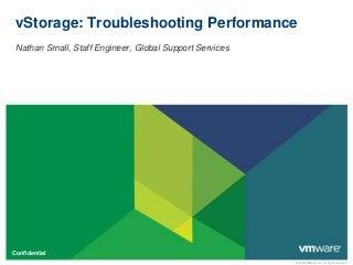 vSphere vStorage: Troubleshooting Performance