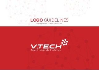 Bộ quy chuẩn thiết kế logo công nghệ điện VTECHCO