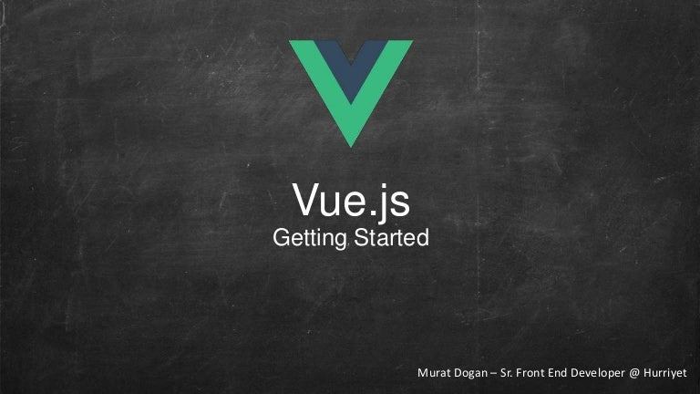 Vuejs getting-started - Extended Version