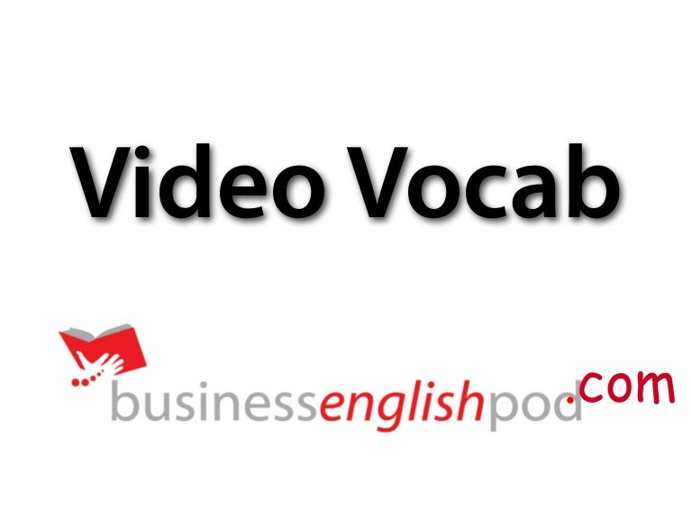 English Vocabulary for Project Management (Part 1)