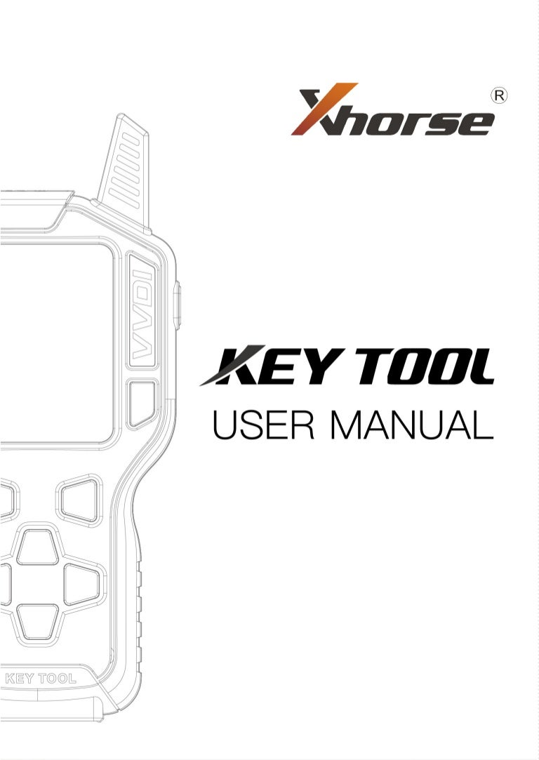 VVDI Key Tool User Manual