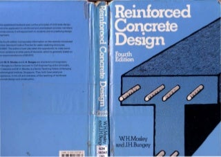 W.h.mosley, j.h.bungey. reinforced concrete design book