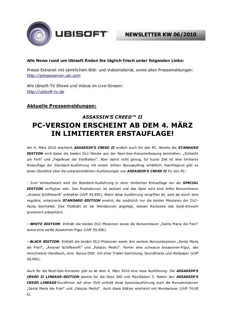 Wochentlicher Presse Newsletter Kw06 2010 Pdf