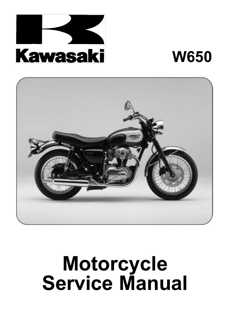 W650 Service Manual Kawasaki W800 Wiring Diagram