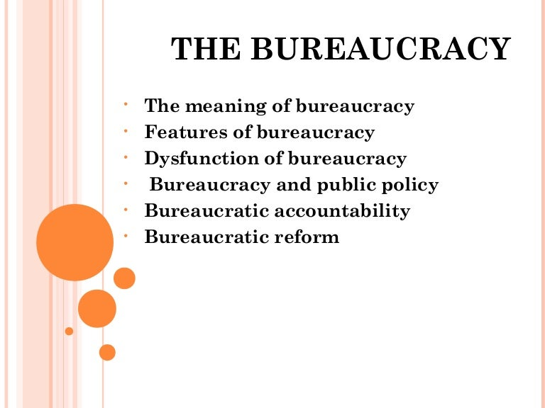 What is an example of bureaucratic leadership?